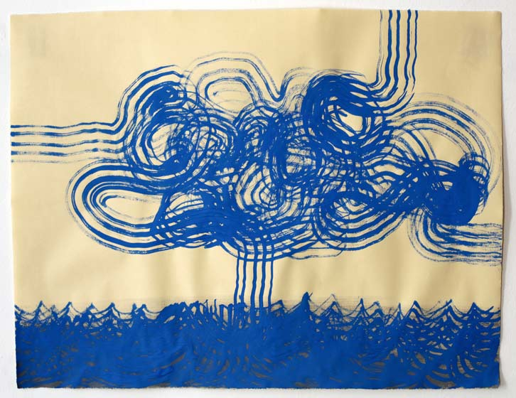 Untitled-11/014, 2011,   gouache on paper, 19 x 24.5 inches /48.3 x 62.2 cm