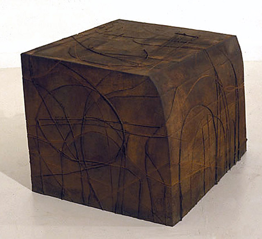 Tank IV, 1994,   cast iron, 25 x 29 x 35 inches / 63.5 x 73.7 x 88.9 cm