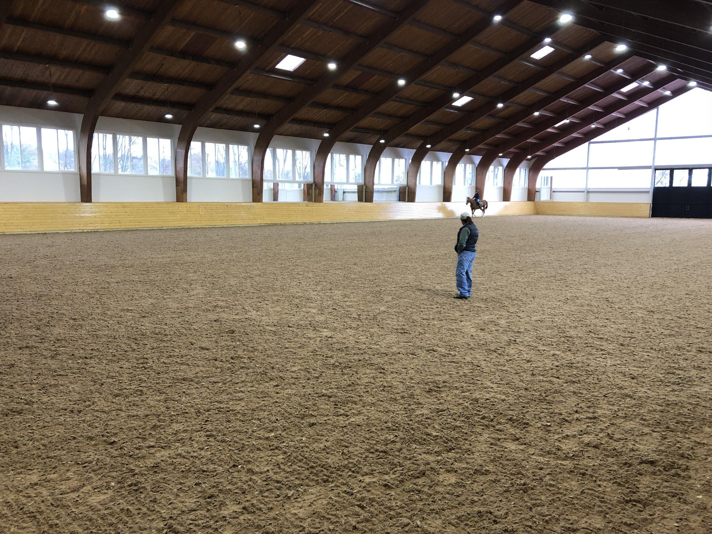 100' X 200' Indoor Arena -