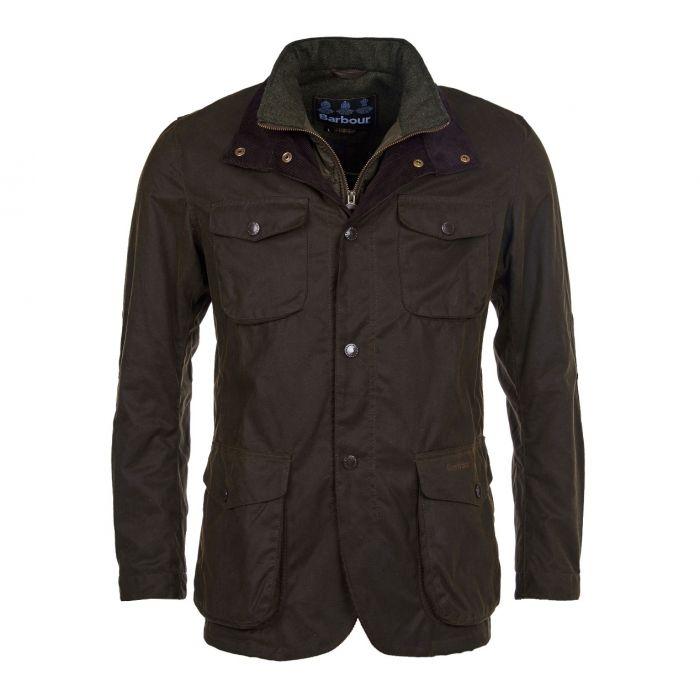 Ogston olive Barbour wax jacket