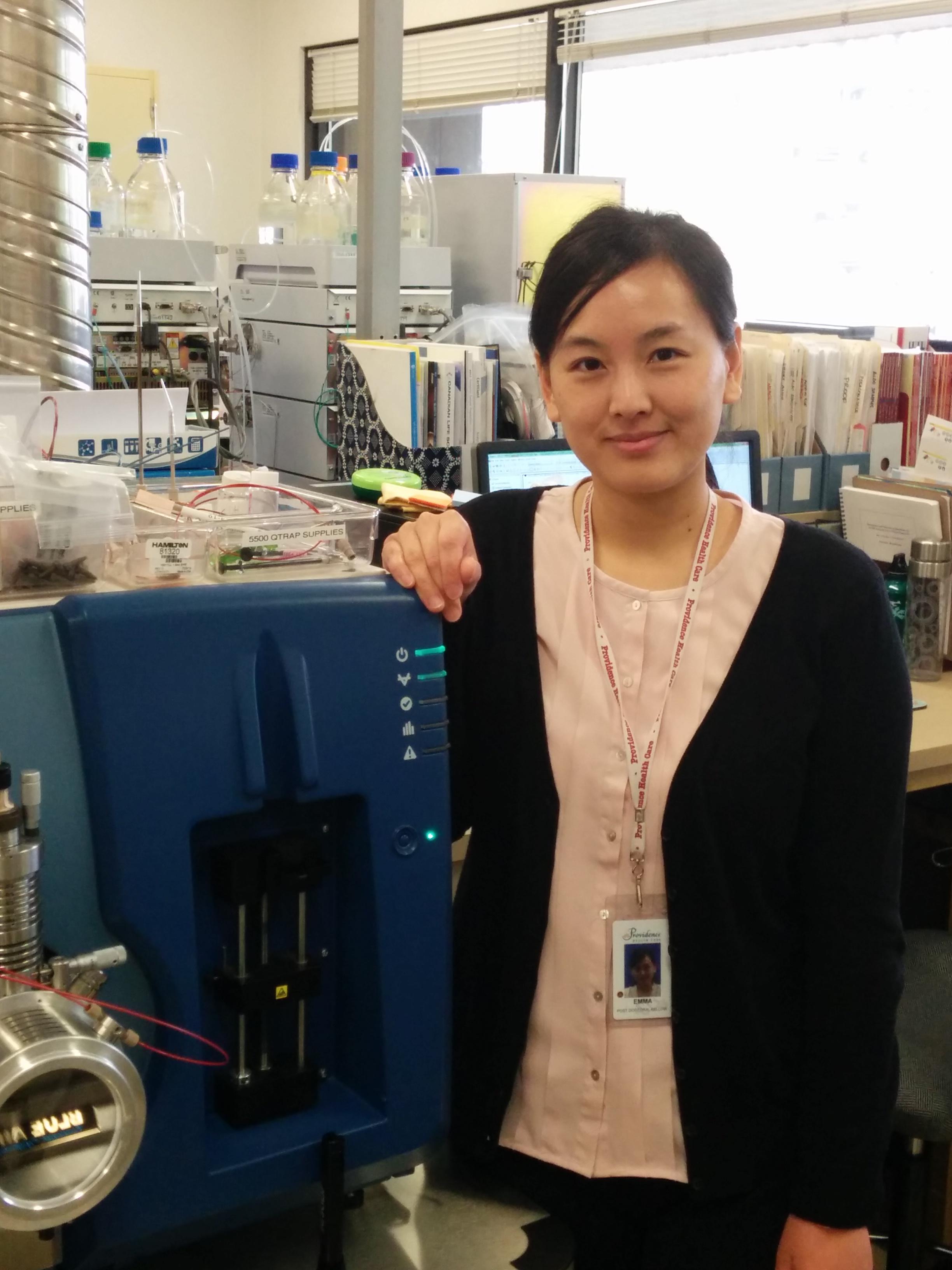 Dr. Emma Zheng ~ 2015 Spark Award