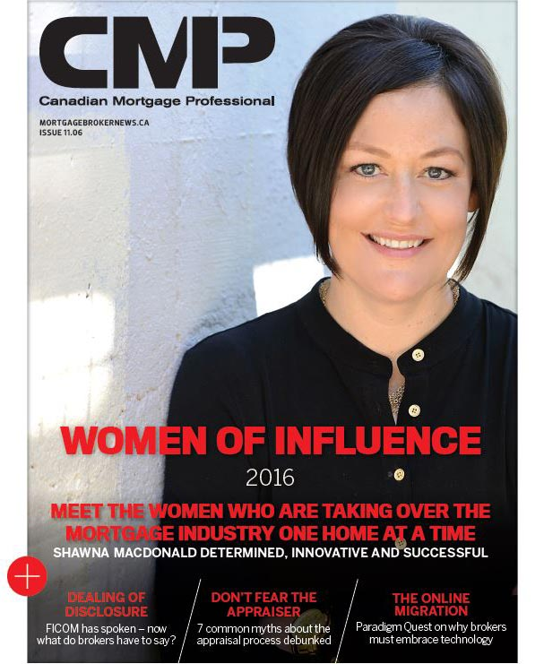 Women of Influence - Shawna MacDonald Mortgage Broker Saskatoon