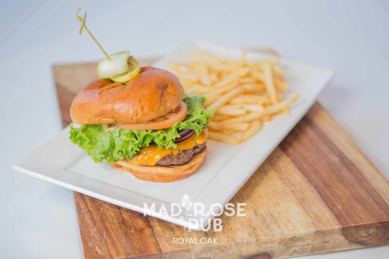 SATURDAY • $12 Cheeseburger