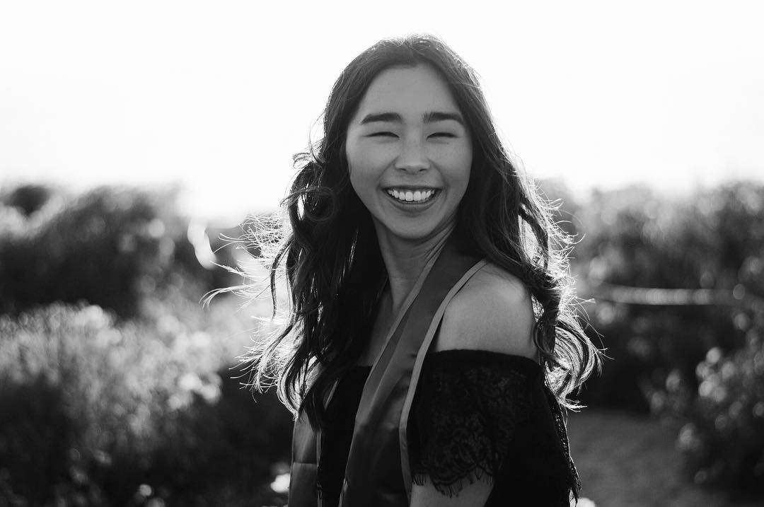 Evelyn Na - A social media enthusiast with a confident spirit. Despite all the trials she has faced, she remains resilient. Evelyn is based in Los Angeles and works as a social media coordinator at Lescher Mokuau Group, a digital marketing agency.