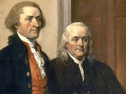 Thomas Jefferson and John Adams took wood chips from Shakespeare's chair as souvenirs.