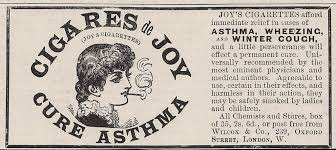 REALLY!? CURES ASTHMA...C'MON!