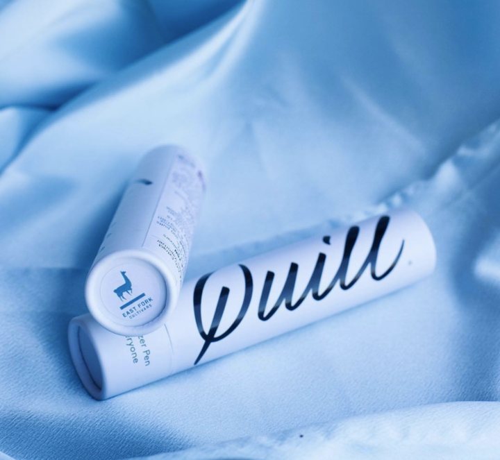 Quill - Quill is a sleek, gorgeous, all-in-one oil vaporizer. Using single-origin and single-cultivar cannabis oils, Quill is easy to use for discreet micro-dosing when you need a little energy boost. Broad spectrum in your pocket.Products featuring East Fork: Vape cartridges