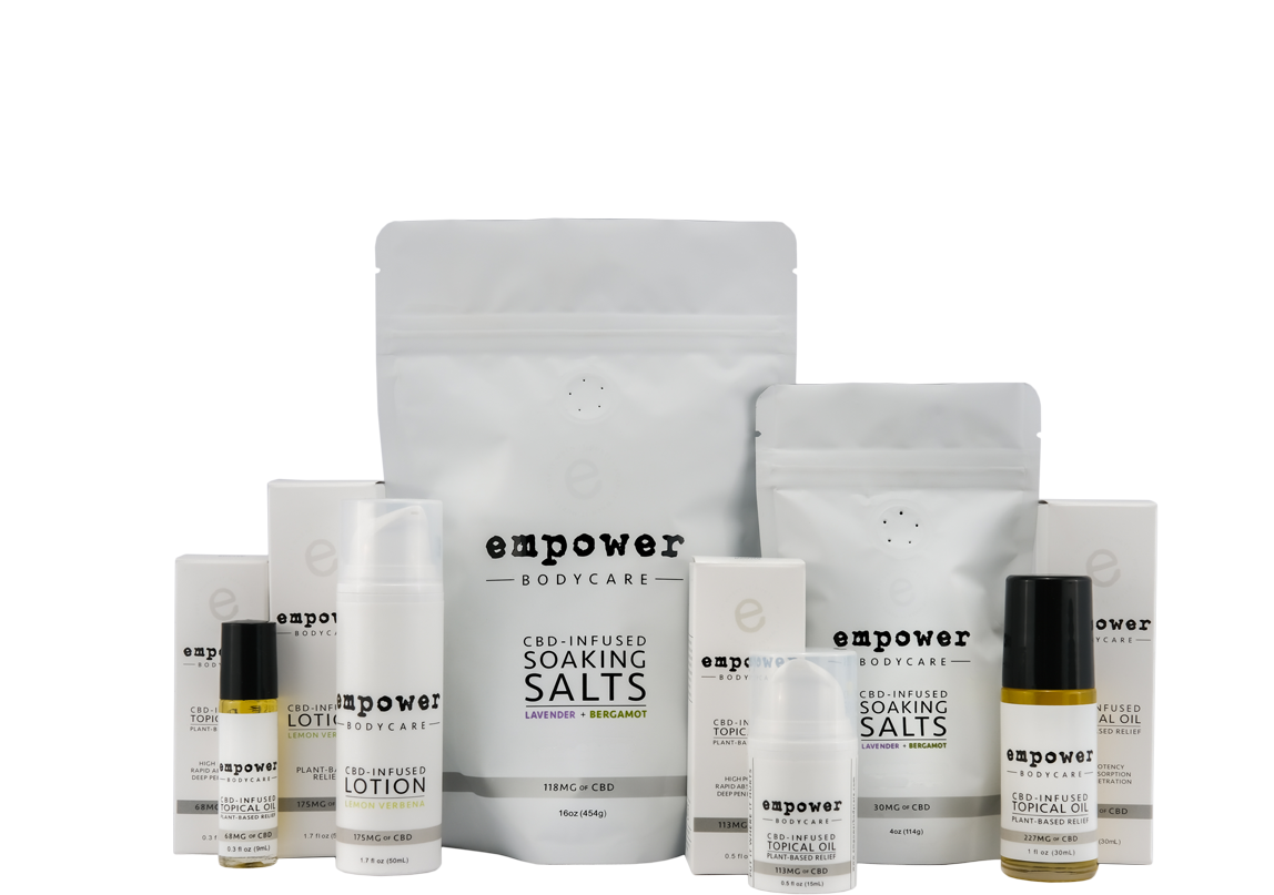 Empower BodyCare - Founded in 2013, Empower BodyCare makes high quality and effective topical products that soothe, refresh, and moisturize. Empower offers lotions, oils, and soaking salts, all powered by our hemp instead of adult-use cannabis.Products featuring East Fork: Topical oils, lotions, soaking salts