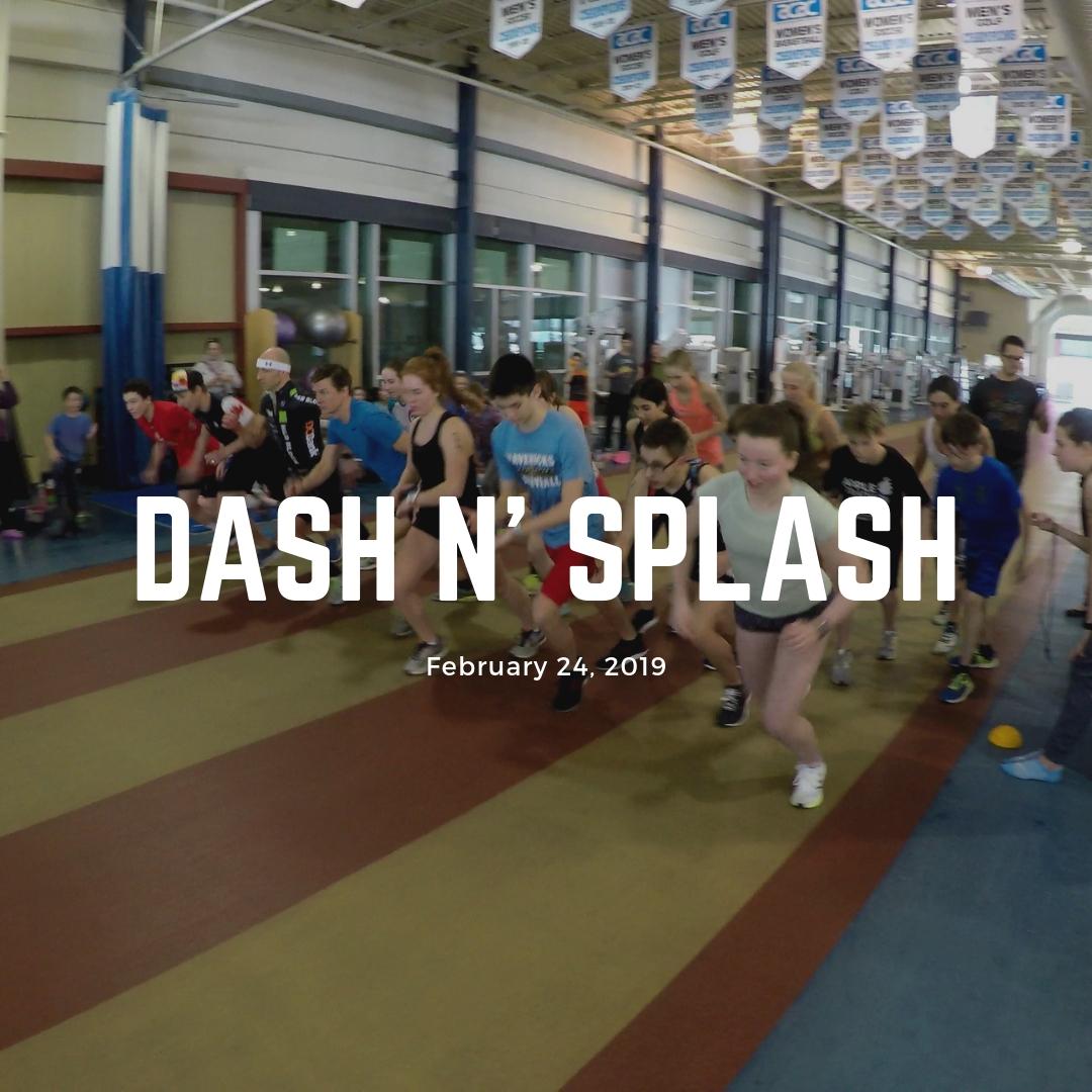 Dash n' Splash Run and Swimming Event