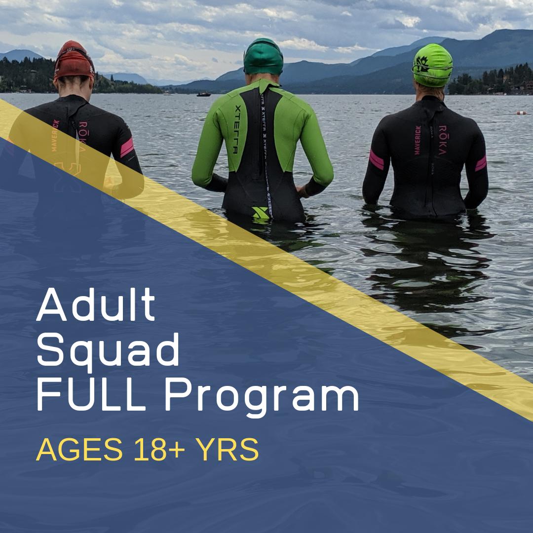 Adult  Full Triathlon Program in Calgary for Age Groupers
