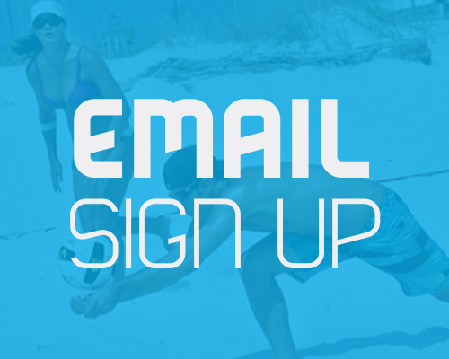 Email sign up for jax beach volleyball mailer