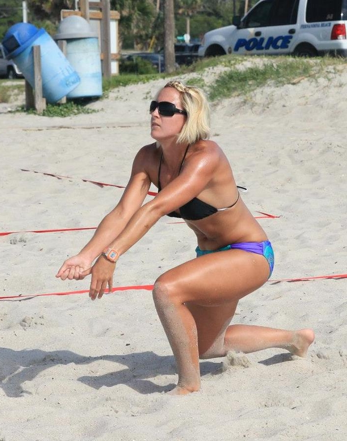 Brandi roth of JBVB shows us great passing form