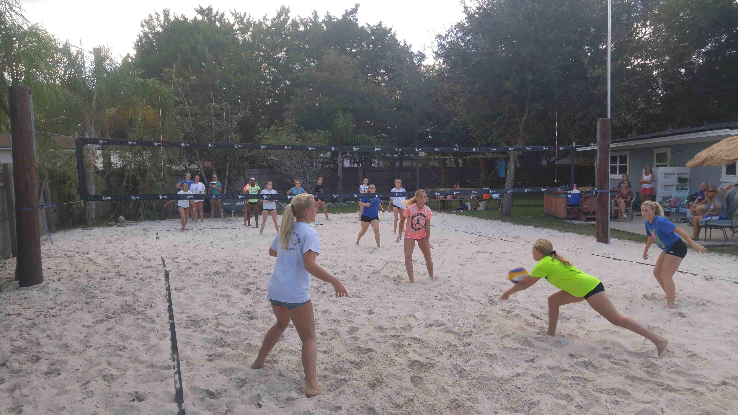 jax beach volleyball clinic