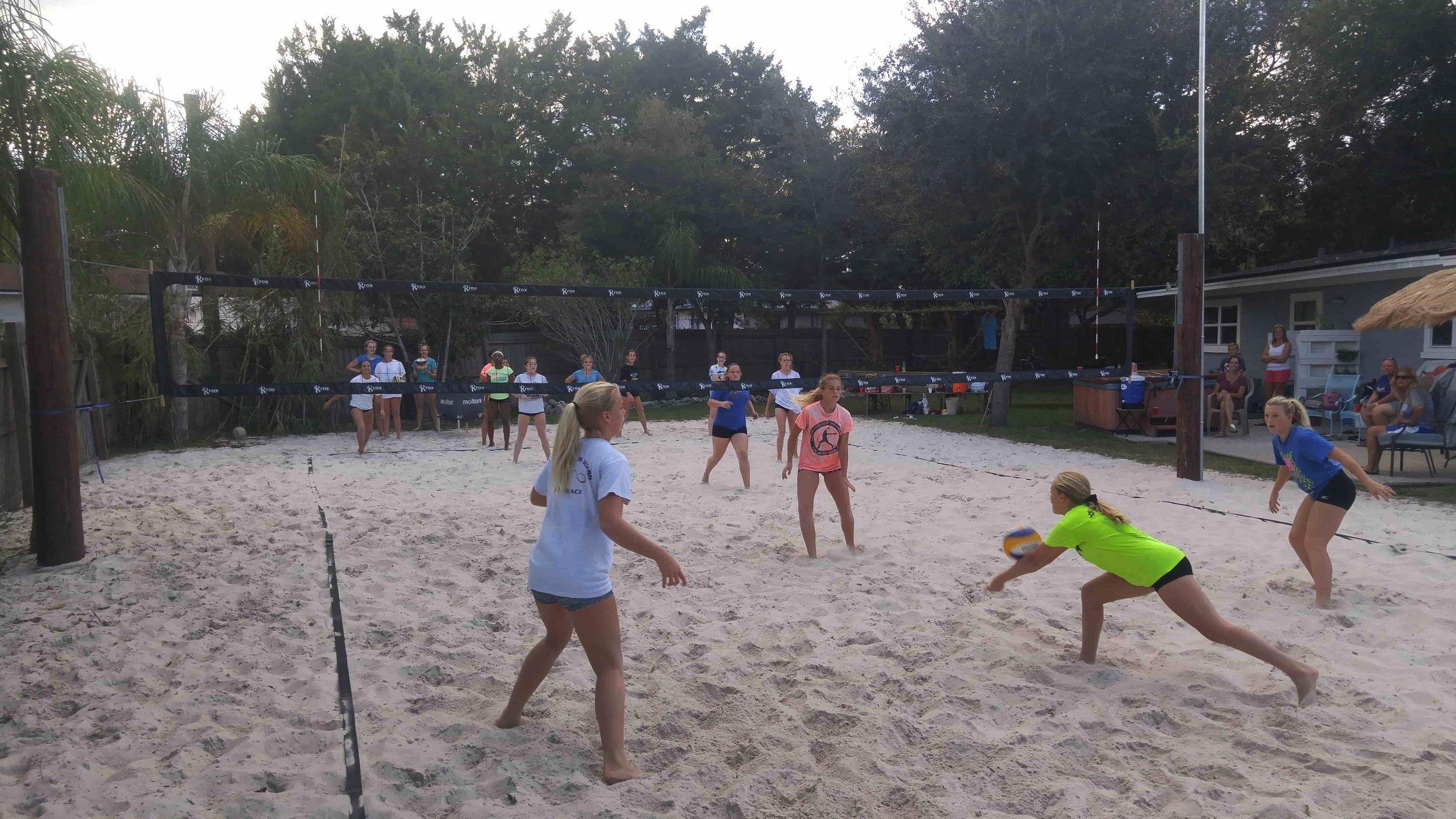 Fletcher Volleyball meets JBVB