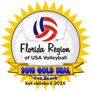 USAV Florida Region Gold seal