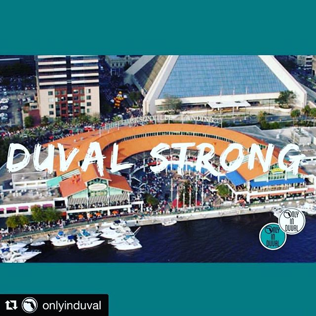 We are with you... #onelove #Repost @onlyinduval with @get_repost ・・・ We love this town.  Sending love to our friends, families, and victims at Chicago Pizza. #OnlyinDuval #DuvalStrong #igersjax #firstcoastnews #news4jax OnlyinDuval.com