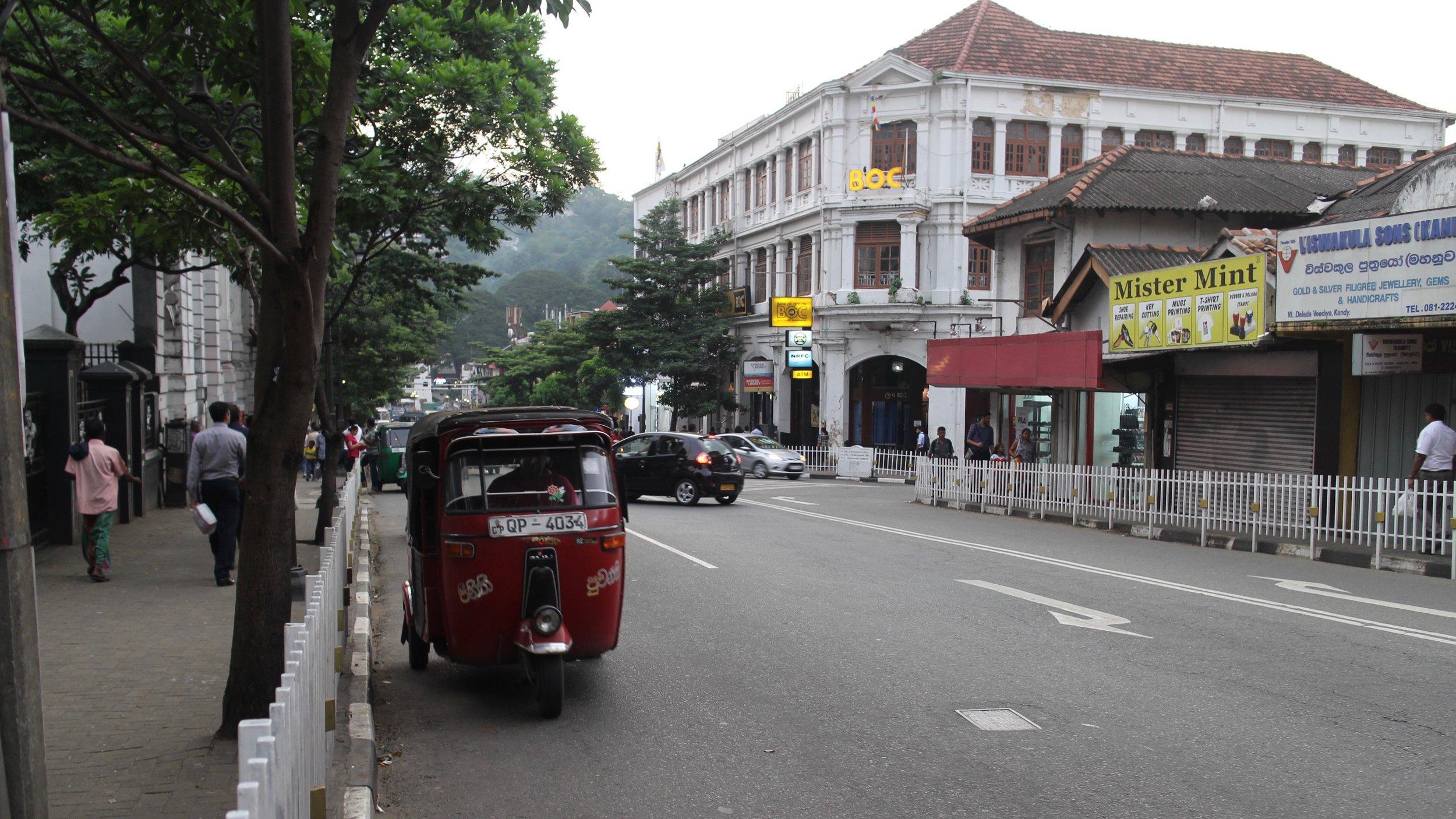 Downtown Kandy