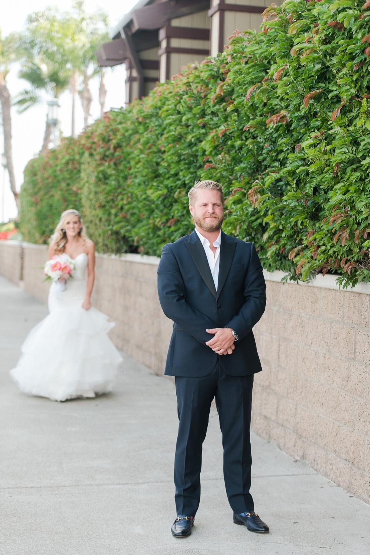 Dana Point Harbor Wedding First Look