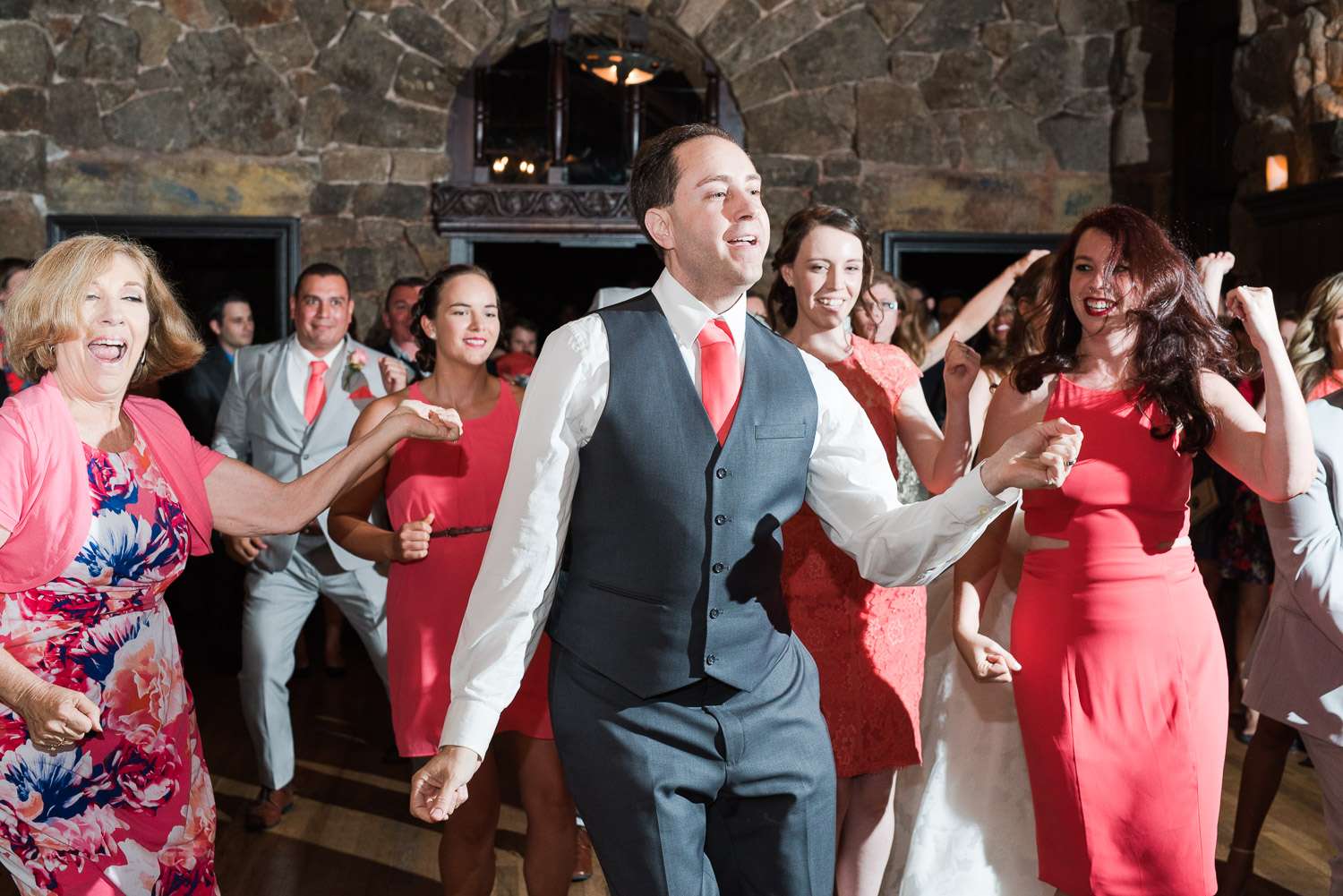 Mt. Woodson Castle Wedding // Brandi Welles Photographer // Reception Dance
