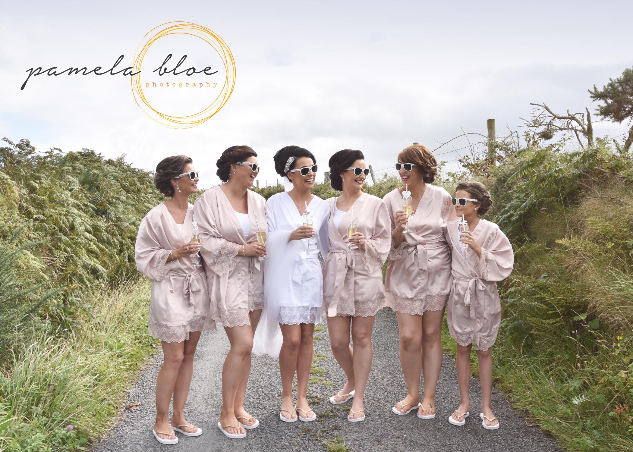 bridesmaid-pyjamas-photoshoot-team-bride-wedding