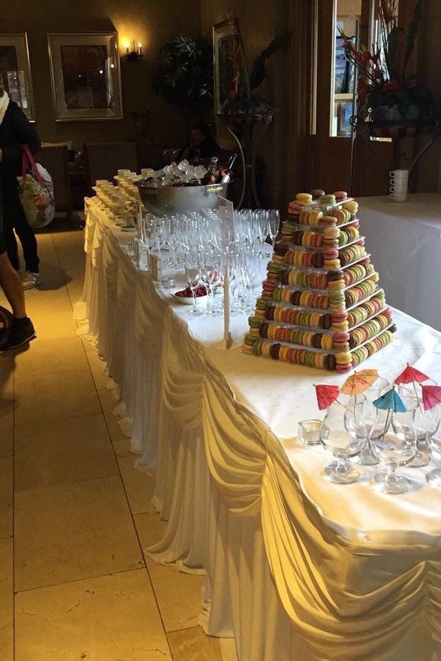 Arrival Reception options at Ballyliffin Lodge