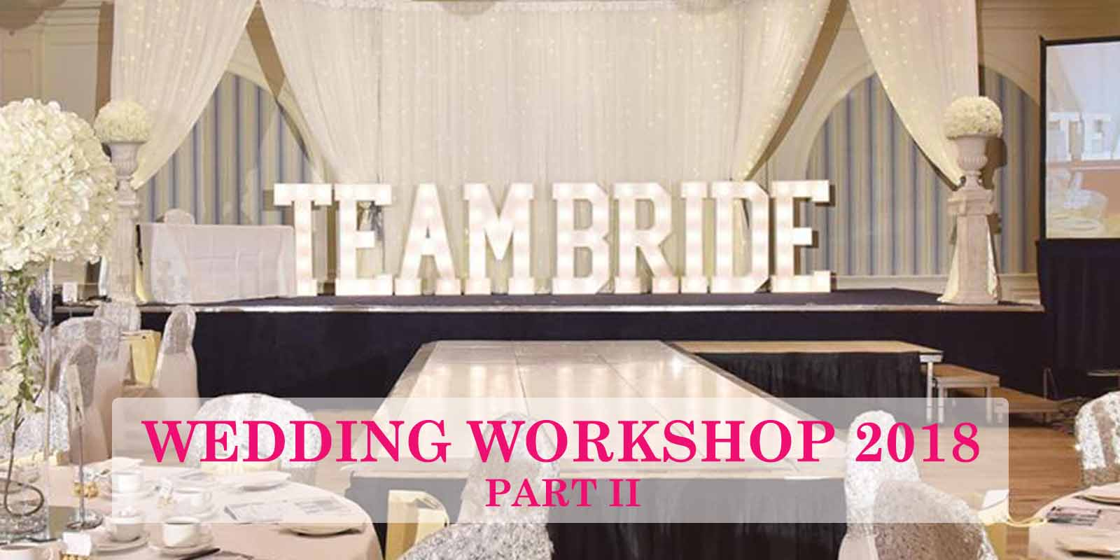 So much went on at the Team Bride Workshop I couldnt fit it all in one blog!...  CLICK TO READ
