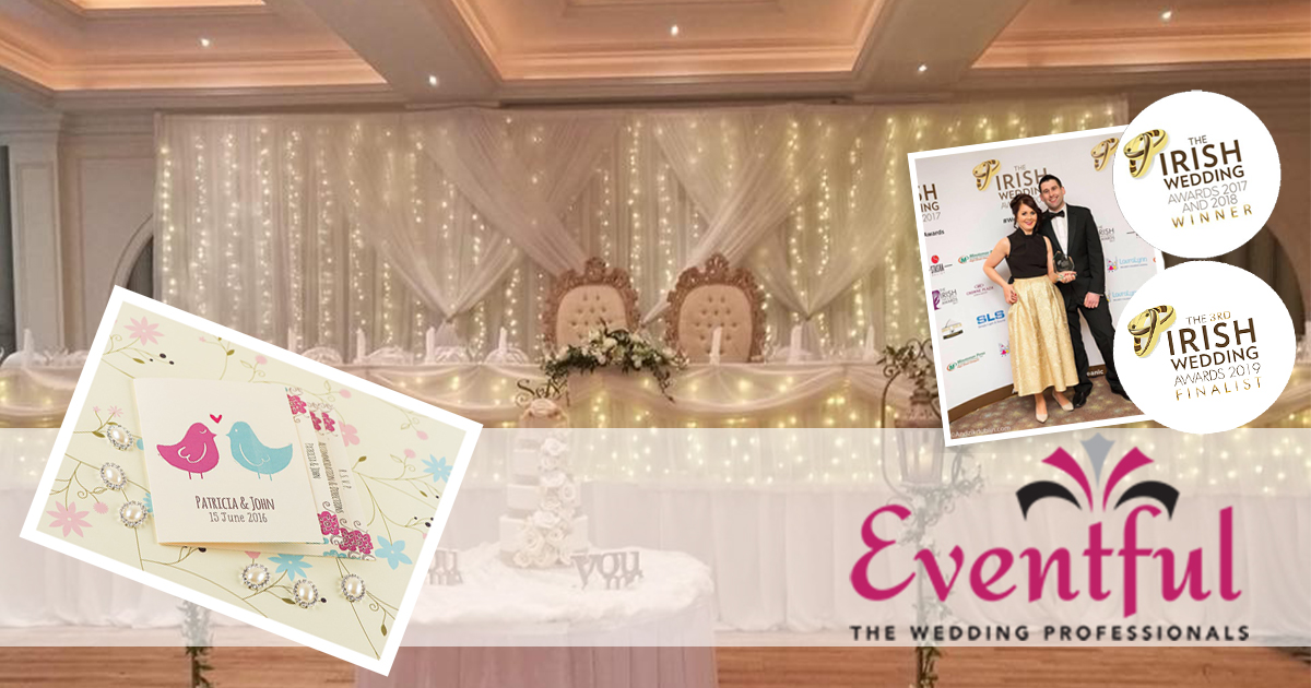 Award Winning Wedding Suppliers Eventful invite TeamBride to their Showroom…… CLICK TO READ