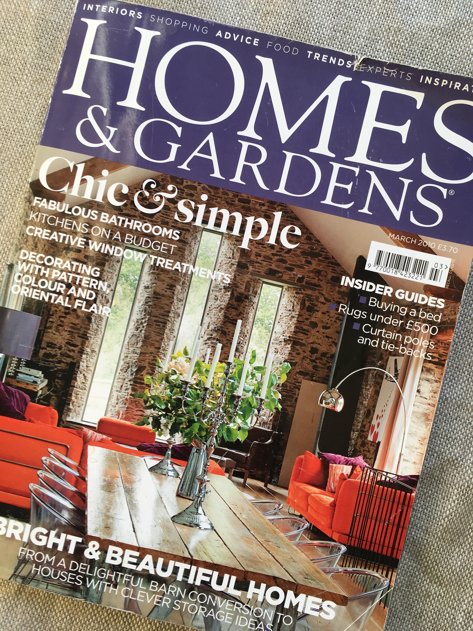 >> Homes and Gardens 2010