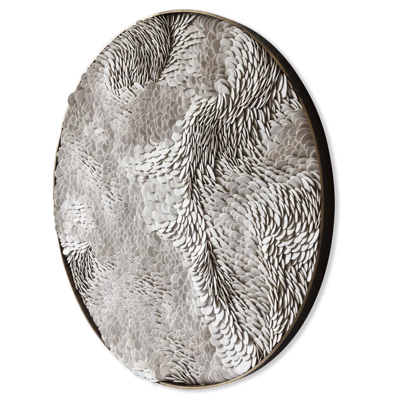 Natural porcelain round Flow ( frame penny brass polished face).jpg