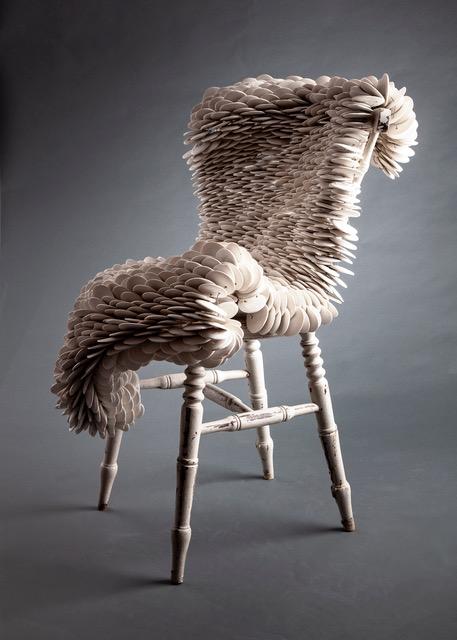 Articulated Sculpture , a work in progress Image by Deborah Husk