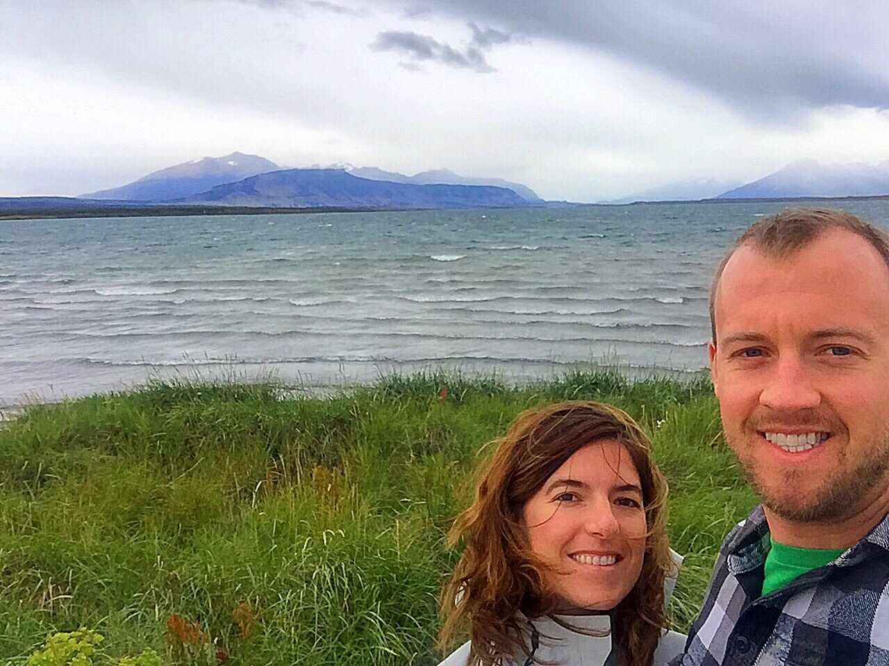 Us setting off from Puerto Natales