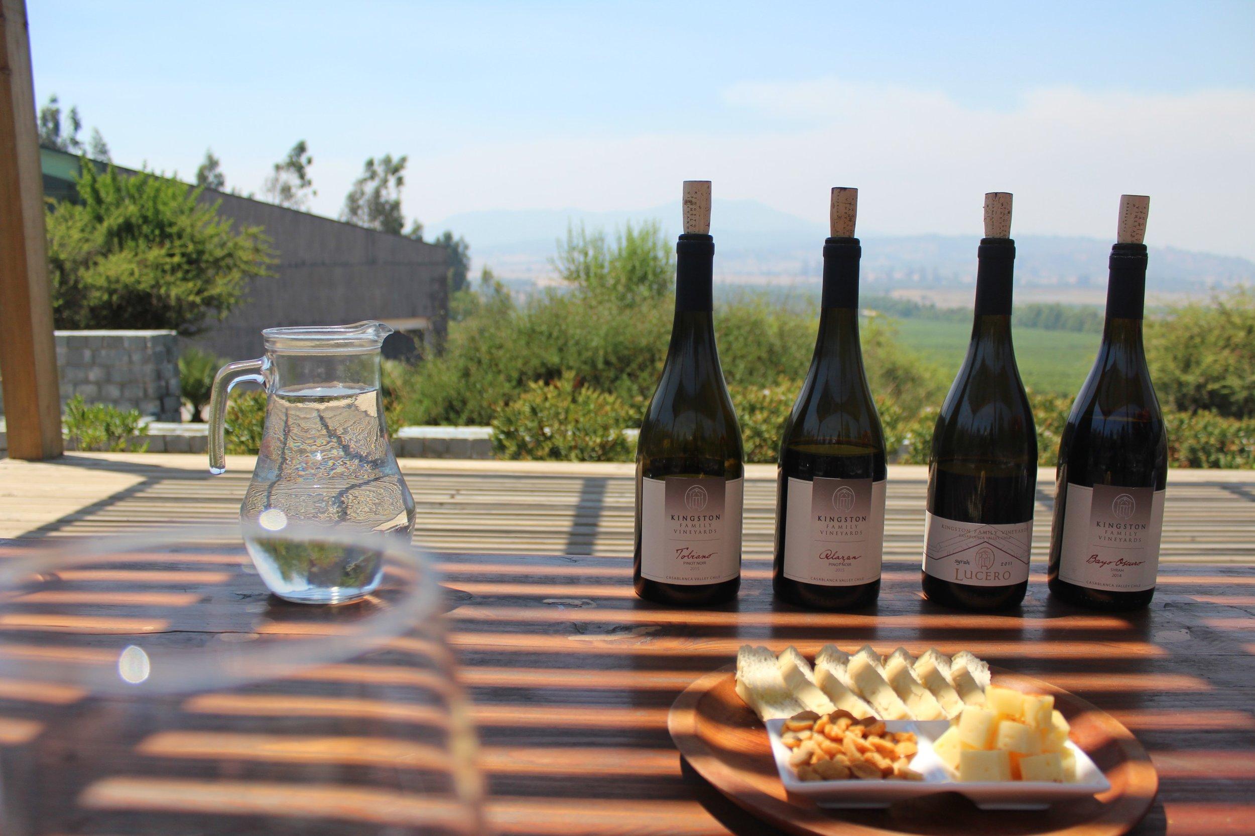 Kingston Family Vineyards; wine tasting