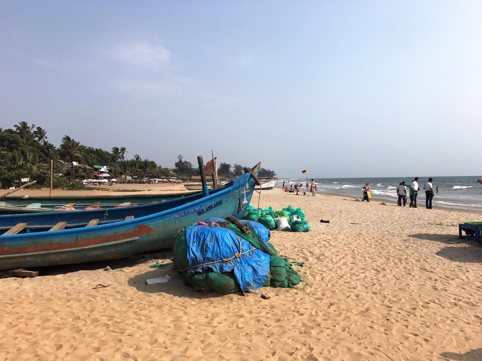 Arambol Beach Boats