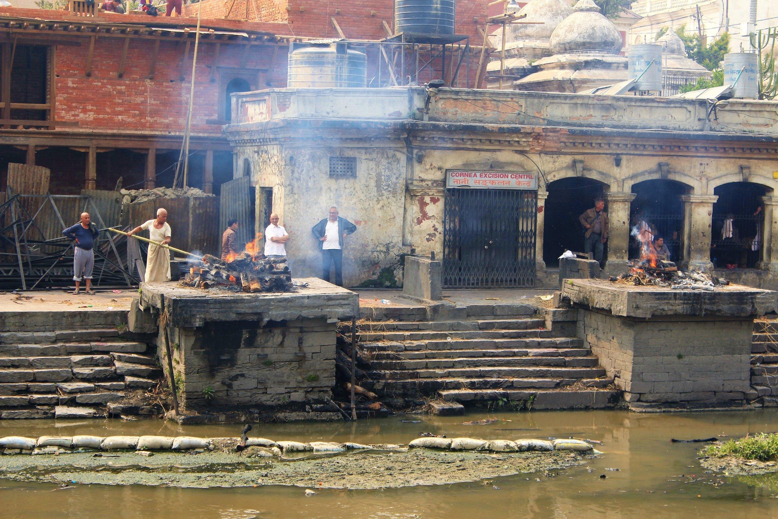 Cremation Site at Pashupatinath