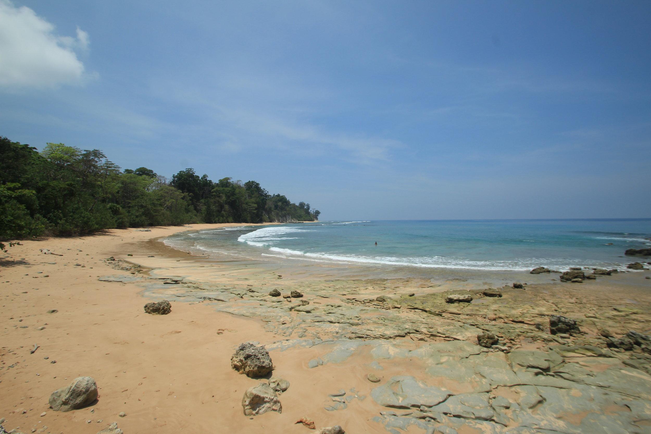 Sitapur, Sunrise Beach