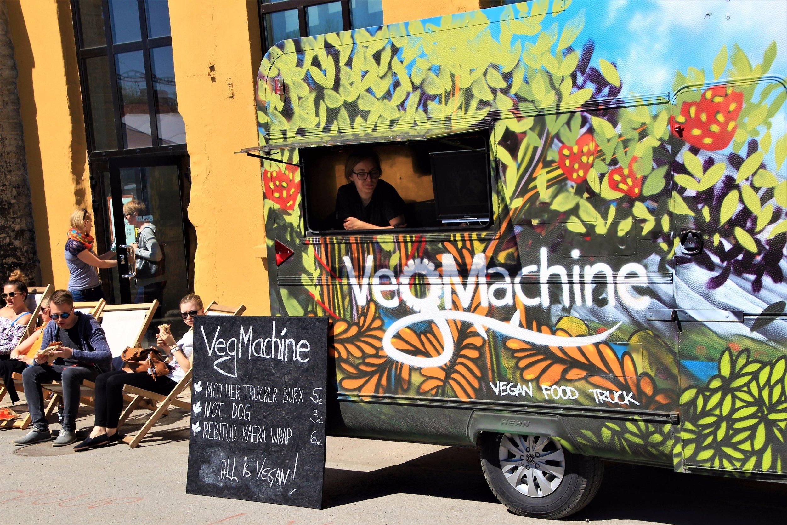 Veggie Food Truck