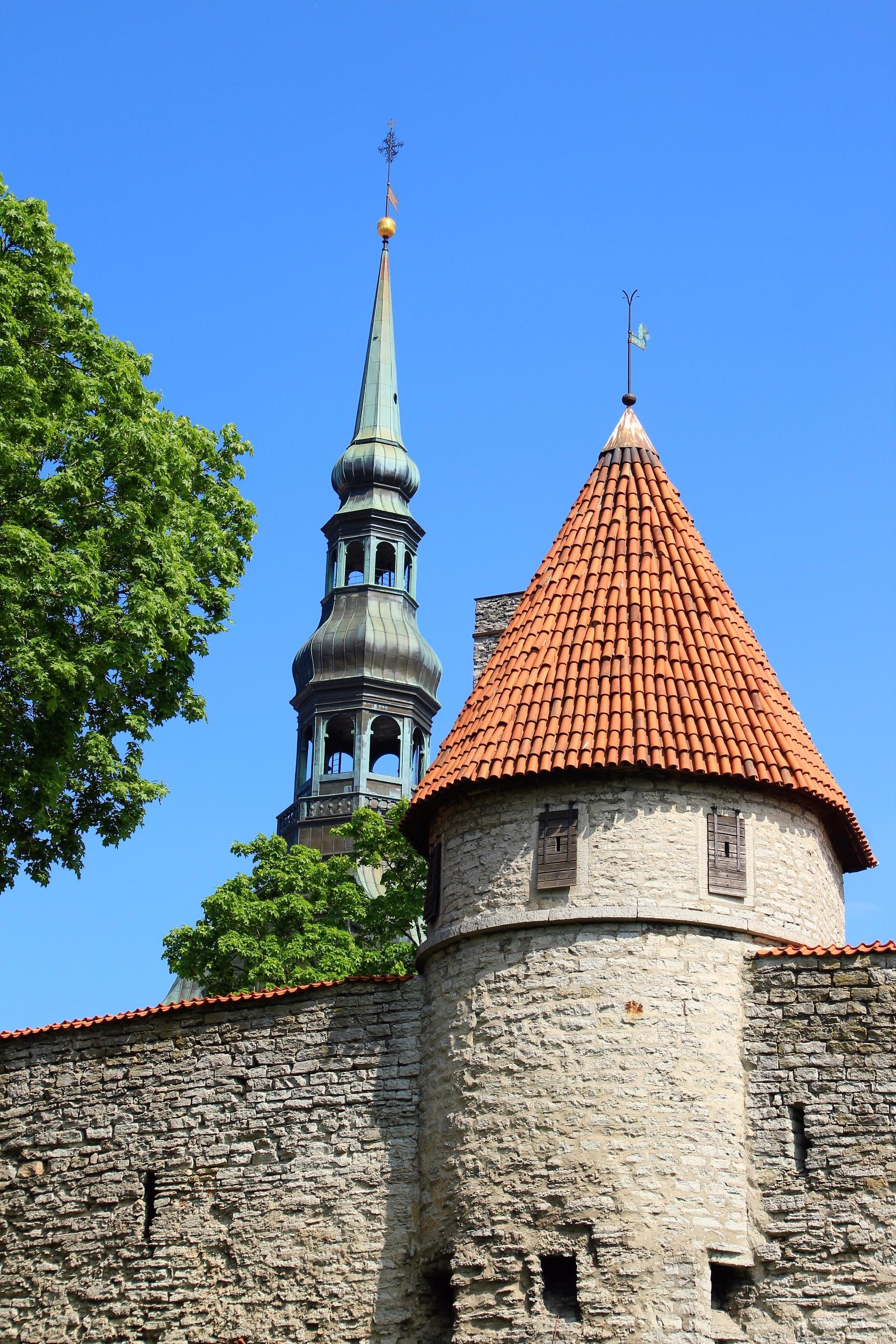 City Fortress Walls