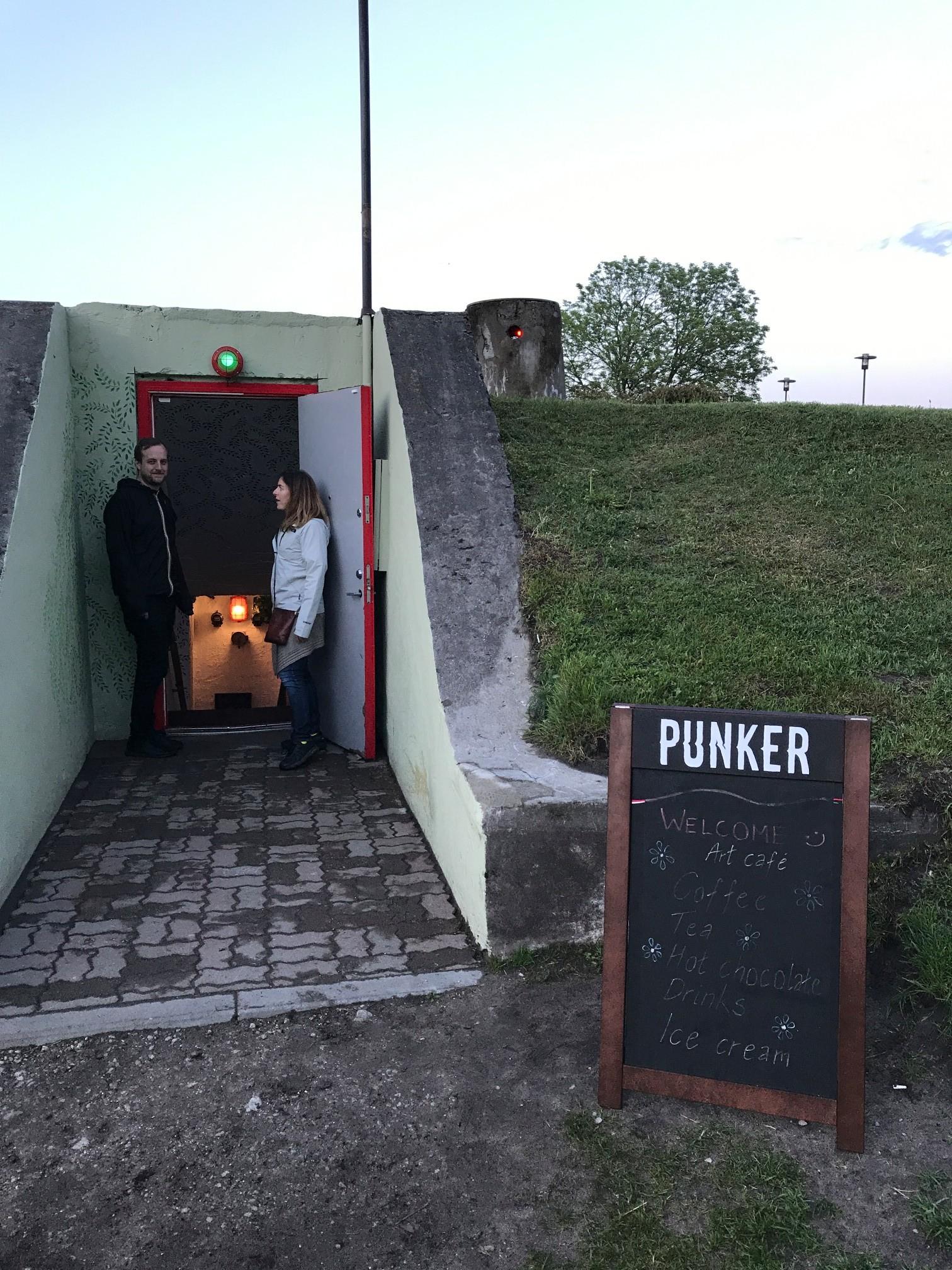 Outside Punker Bar