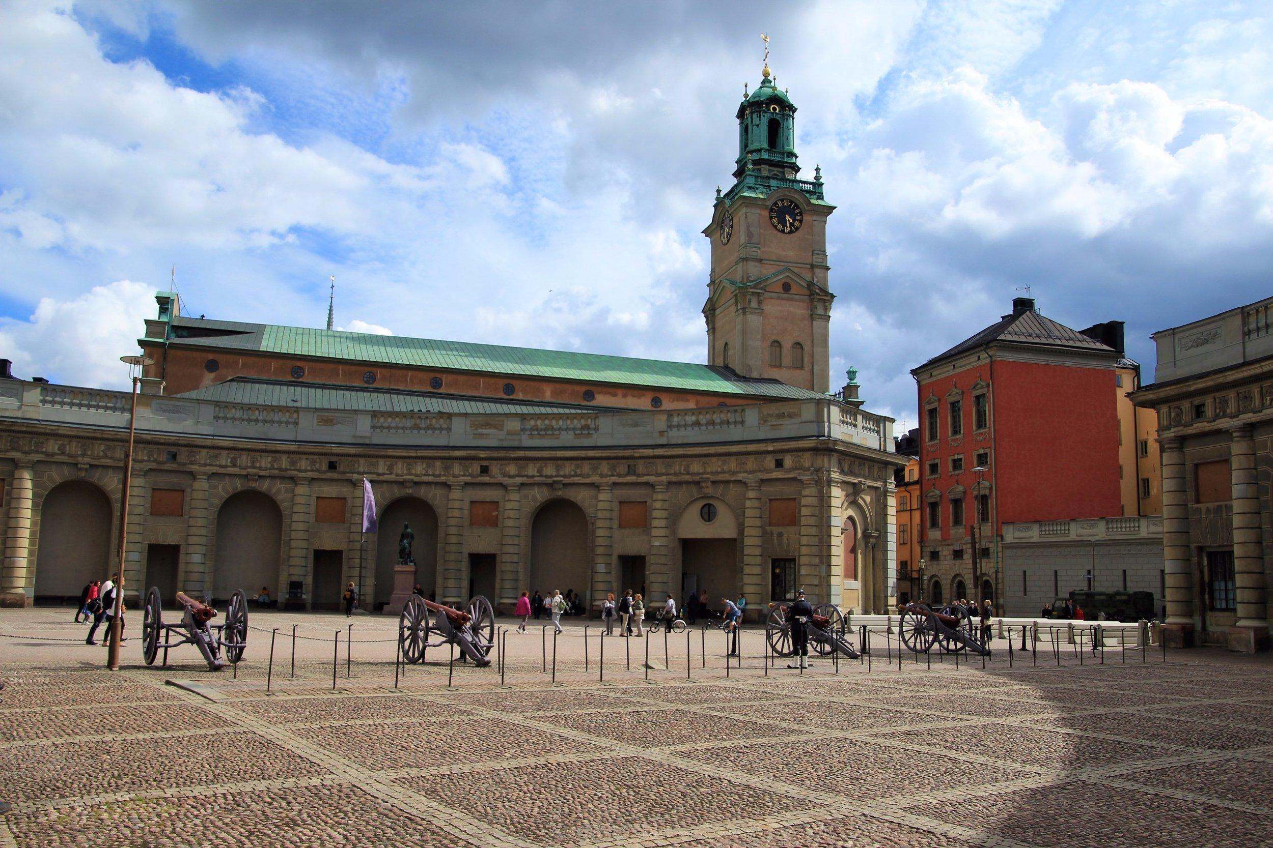 Royal Palace Parade Square