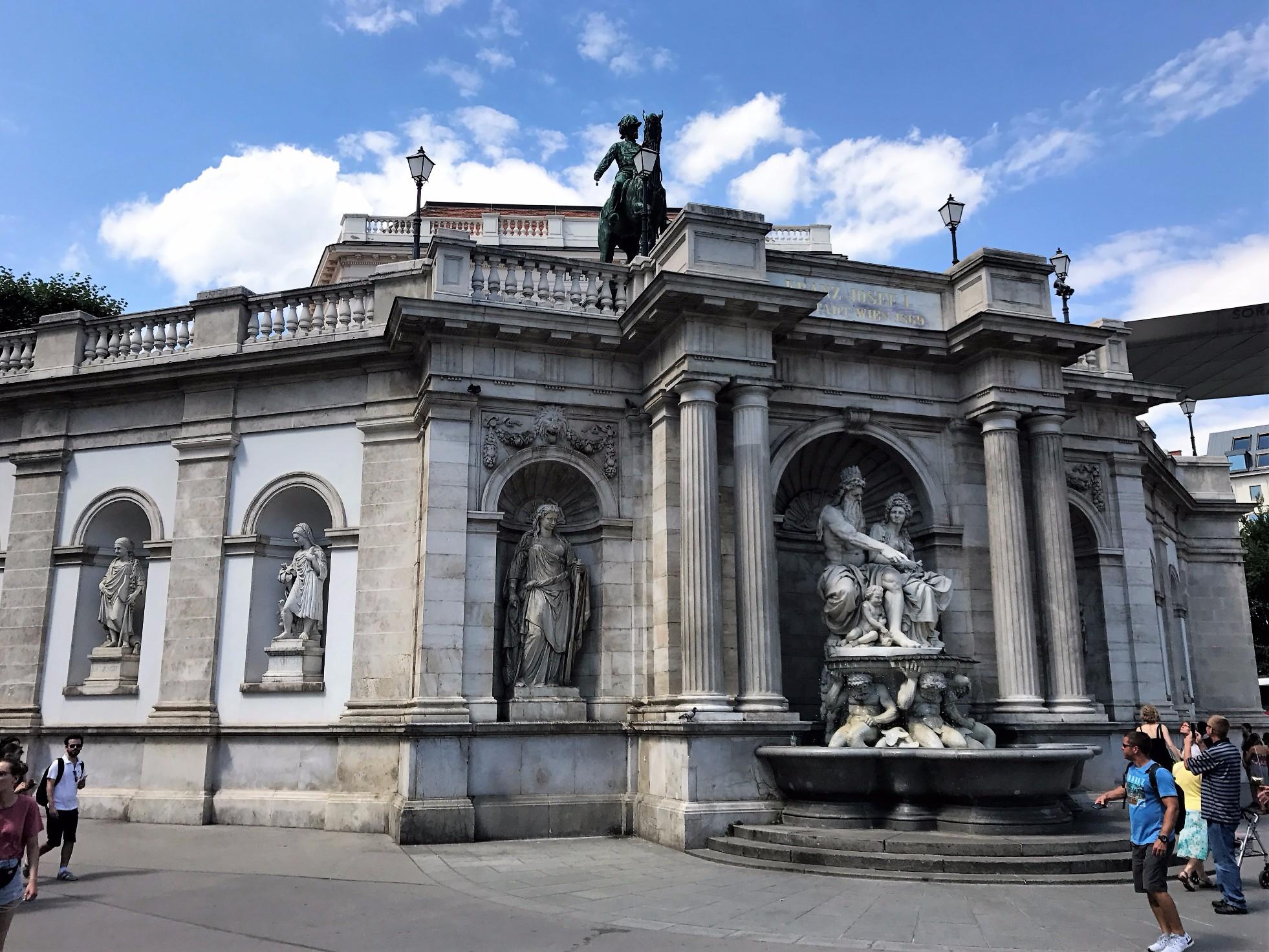 lower level of Albertina Museum
