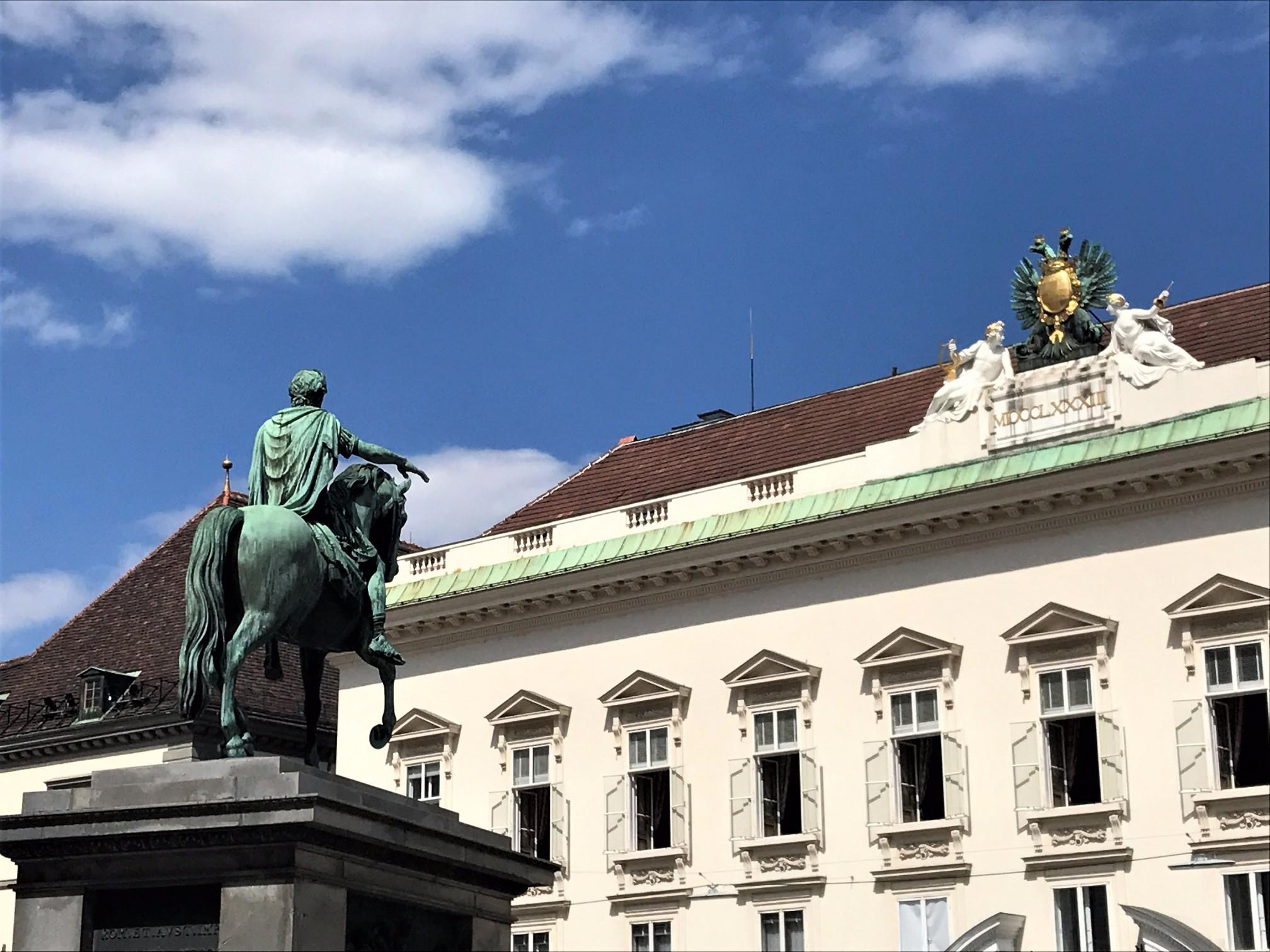 Josefsplatz, Hofburg Palace