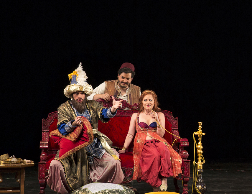 L'italiana in Algeri  in Santa Fe Opera's Apprentice Scenes Showcase
