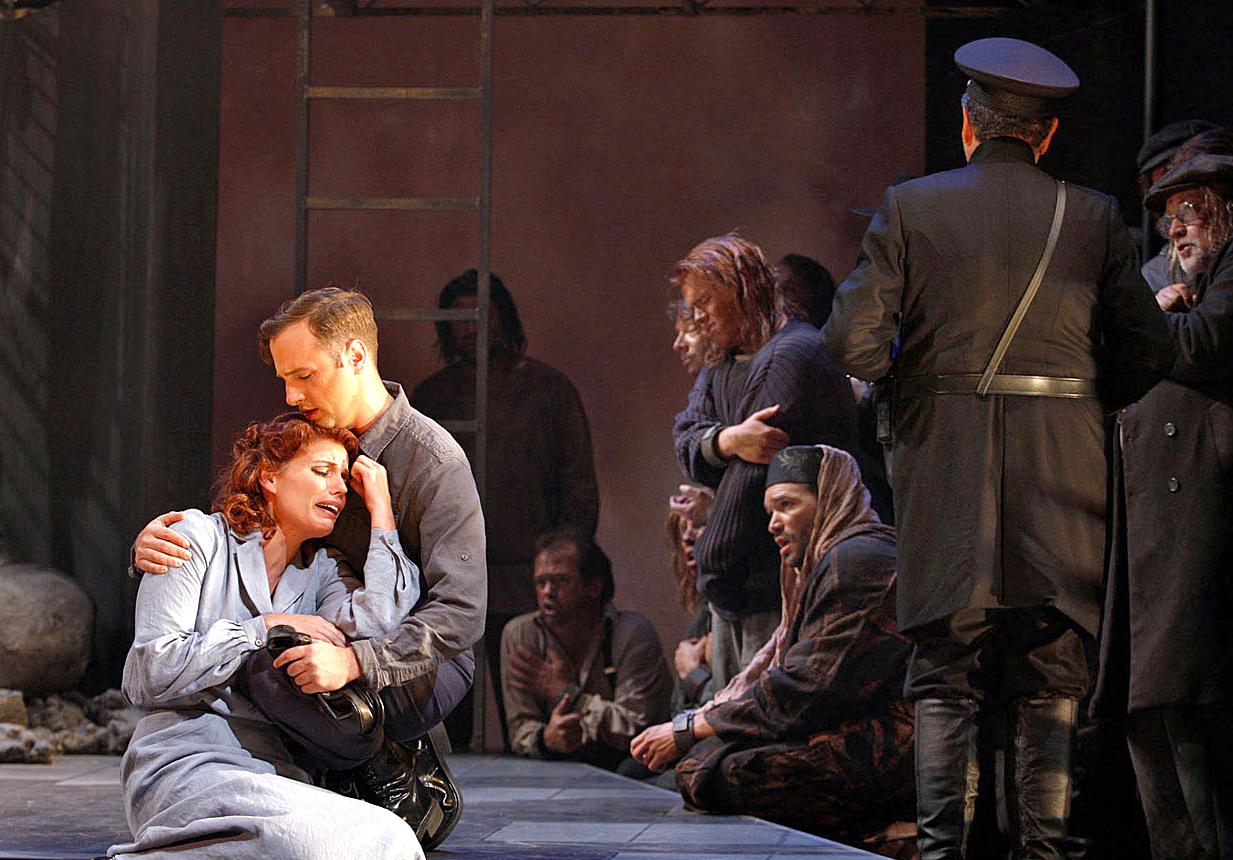 Fidelio  at Utah Opera | Photo by Kent Miles, 2011