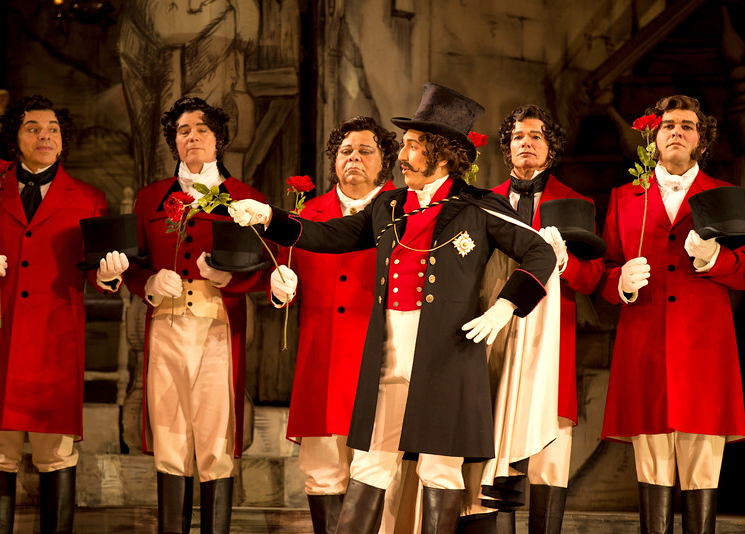 La Cenerentola  at San Francisco Opera | Photo by D. Ross Cameron