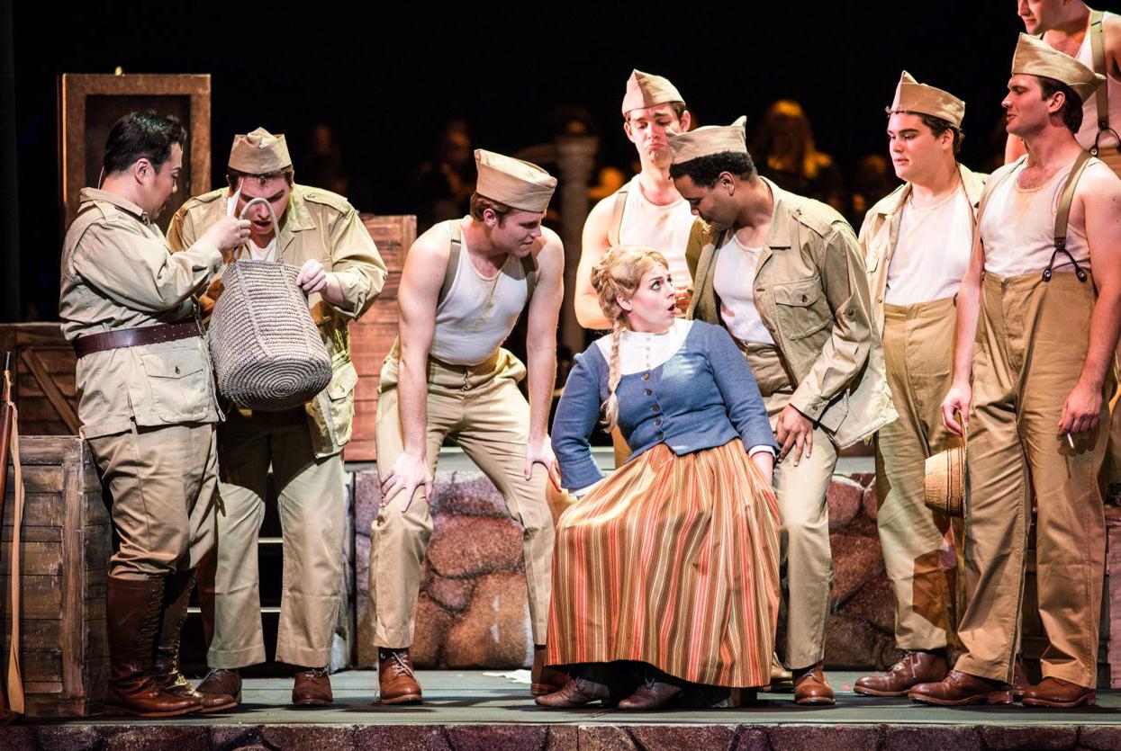 Carmen  at Wolf Trap Opera | Photo by Teddy Wolff