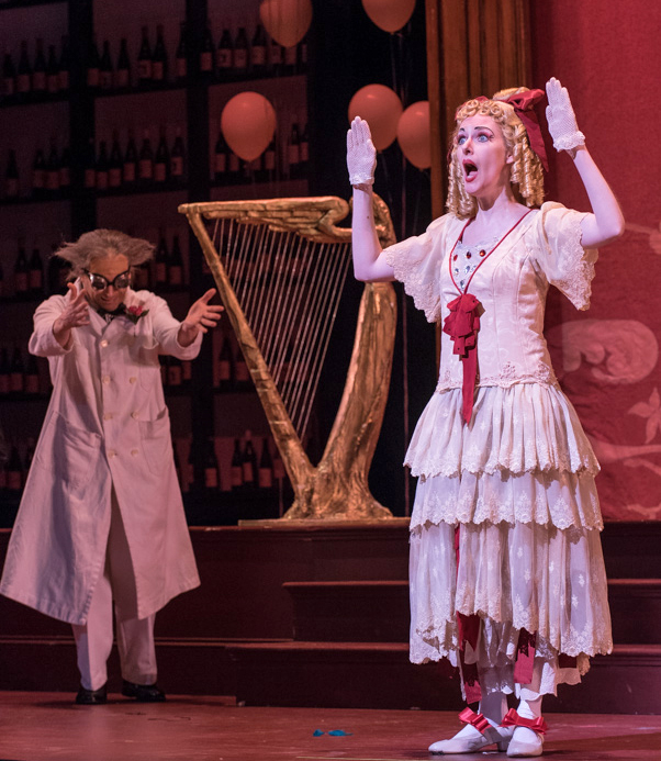 Les contes d'Hoffmann  with Madison Opera