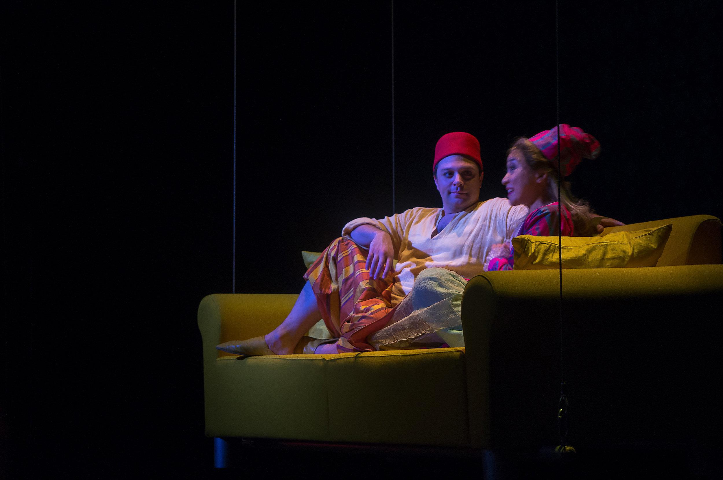Pedrillo in Die Entführung aus dem Serail  at Bayerische Staatsoper. Photo credit: Steven Harris