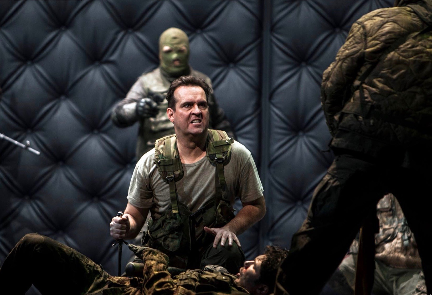 Macbeth  at Dutch National Opera. Photo by Bernd Uhlig.