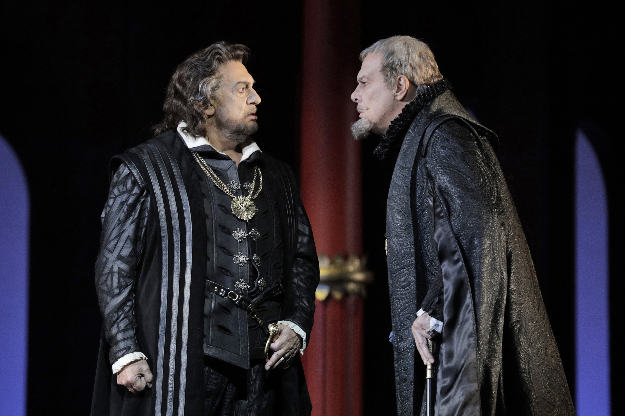 Don Carlo  at Los Angeles Opera. Photo by Cory Weaver.