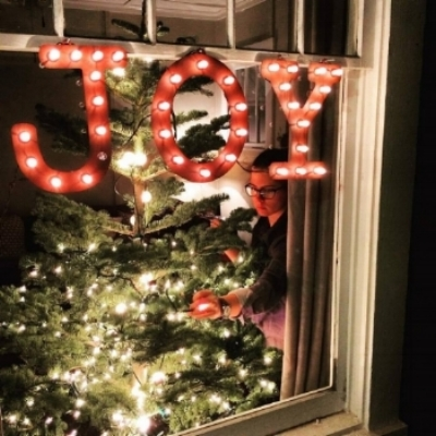 Christmas 2015- days from impending miscarriage. Forcefully choosing joy.